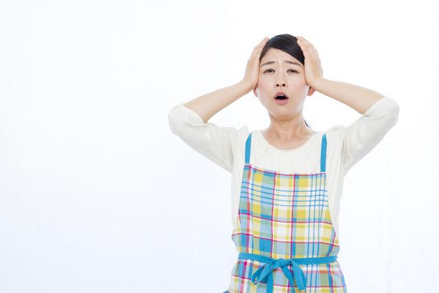 給湯器が故障して困る主婦