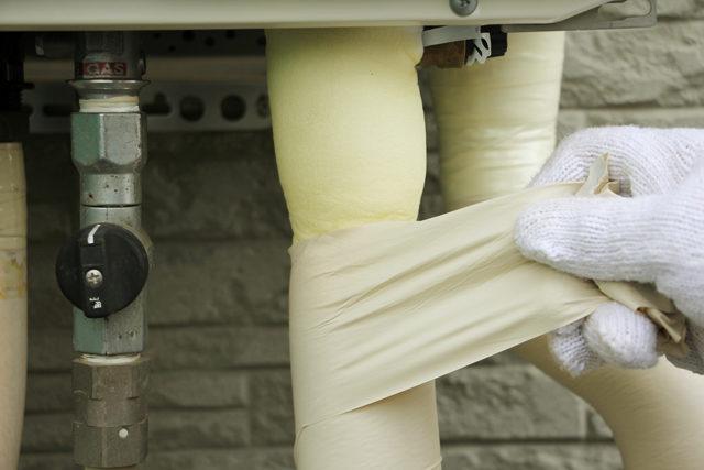 給湯器の凍結防止方法は2種類!配管の凍結防止対策も必要