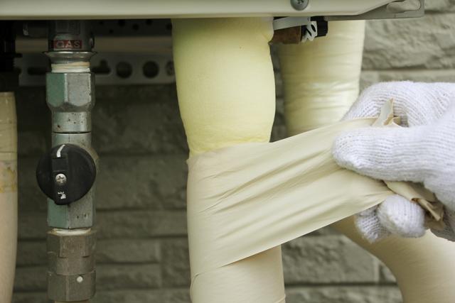 給湯器の凍結防止方法は2つある!配管の凍結防止対策も必要
